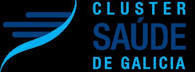 Logotipo Cluster Saúde de Galicia - CSG