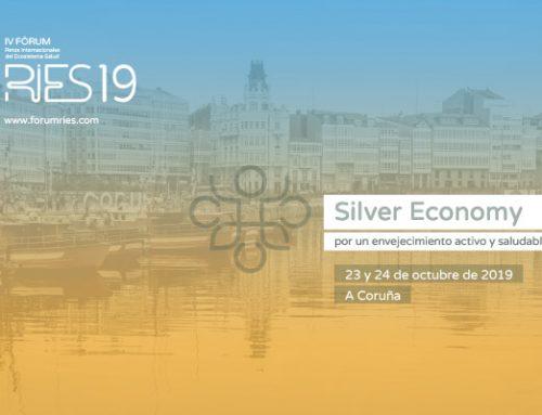 A Coruña acogerá el 23 y 24 de octubre el IV Fórum RIES19 del Cluster Saúde de Galicia sobre retos y oportunidades del envejecimiento activo